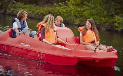 Båt- og kanoutleie